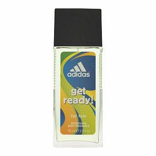 Adidas Get Ready! for Him deodorant s rozprašovačom pre mužov 75 ml