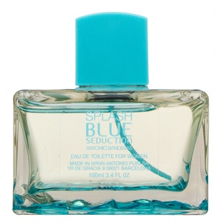 Antonio Banderas Splash Blue Seduction for Women toaletná voda pre ženy 100 ml