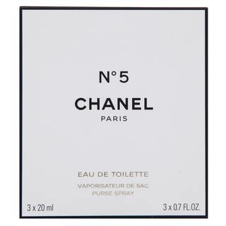 Chanel No.5 toaletná voda pre ženy 3 x 20 ml