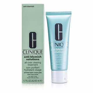 Clinique Anti-Blemish Solutions All-Over Clearing Treatment hydratačný krém proti nedokonalostiam pleti 50 ml