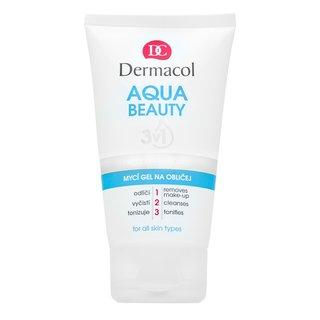 Dermacol Aqua Beauty 3in1 Face Cleansing Gel čistiaci gél na tvár 150 ml