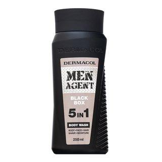 Dermacol Men Agent Black Box 5in1 Body Wash sprchový gél pre mužov 250 ml