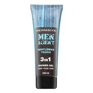Dermacol Men Agent Gentleman Touch 3in1 Shower Gel sprchový gél pre mužov 250 ml