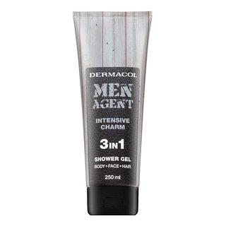 Dermacol Men Agent Intensive Charm 3in1 Shower Gel sprchový gél pre mužov 250 ml