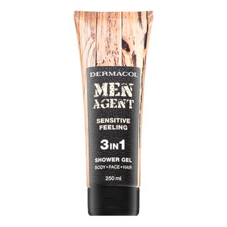 Dermacol Men Agent Sensitive Feeling 3in1 Shower Gel sprchový gél pre mužov 250 ml