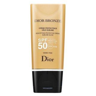 Dior (Christian Dior) Bronze Beautifying Protective Creme Sublime Glow SPF 50 krém na opaľovanie na tvár 50 ml
