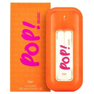 Fcuk Pop Music toaletná voda pre ženy 100 ml