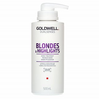Goldwell Dualsenses Blondes & Highlights 60sec Treatment maska pre blond vlasy 500 ml