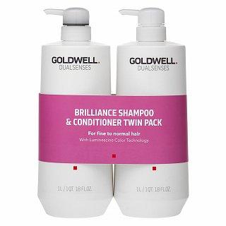 Goldwell Dualsenses Color Brilliance Duo sada pre farbené vlasy 2 x 1000 ml
