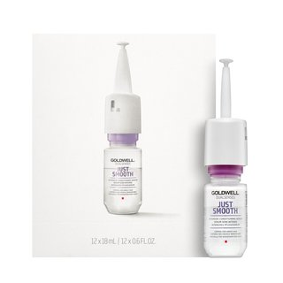 Goldwell Dualsenses Just Smooth Intensive Taming Serum uhladzujúce sérum proti krepateniu vlasov 12 x 18 ml