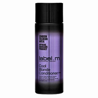 Label.M Cool Blonde Conditioner kondicionér pre platinovo blond a šedivé vlasy 200 ml