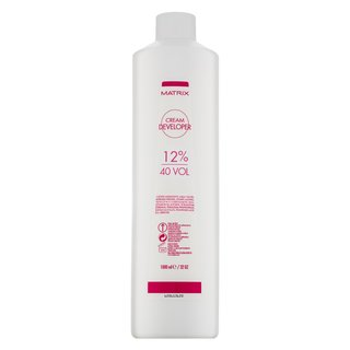 Matrix Cream Developer 12% / 40 Vol. aktivátor farby na vlasy 1000 ml