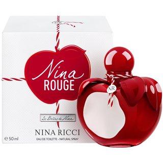 Nina Ricci Nina Rouge toaletná voda pre ženy 50 ml