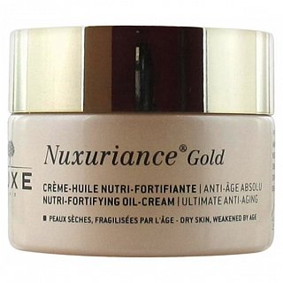 Nuxe Nuxuriance Gold Nutri-Fortifying Oil-Cream olejový gél pre suchú pleť 50 ml