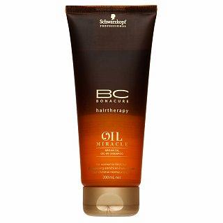 Schwarzkopf Professional BC Bonacure Oil Miracle Argan Oil šampón pre normálne až husté vlasy 200 ml