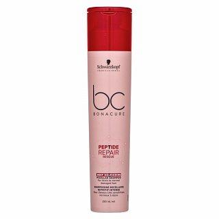 Schwarzkopf Professional BC Bonacure Peptide Repair Rescue Deep Nourishing Micellar Shampoo šampón pre poškodené vlasy 250 ml