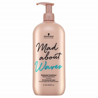 Schwarzkopf Professional Mad About Waves Windswept Conditioner kondicionér pre vlnité a kučeravé vlasy 1000 ml