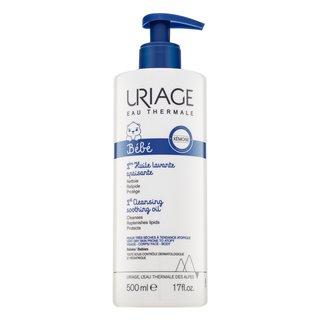Uriage Bébé 1st Cleansing Soothing Oil čistiaci penivý olej pre deti 500 ml