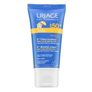 Uriage Bébé 1st Mineral Cream SPF50+ ochranný krém pre deti 50 ml