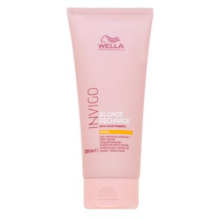 Wella Professionals Color Recharge Warm Blonde Conditioner kondicionér pre oživenie teplých blond odtieňov vlasov 200 ml